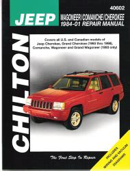 car motorcycle repair manuals chilton haynes the share the knownledge 1984 2001 jeep wagoneer comanche cherokee chilton s total car care manual