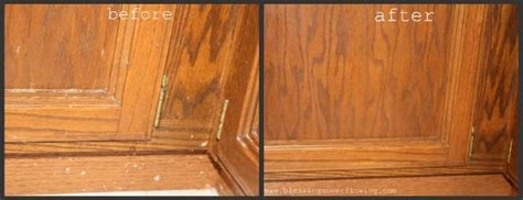 how to clean kitchen cabinets naturally clean kitchen days clean all woodwork natural wood