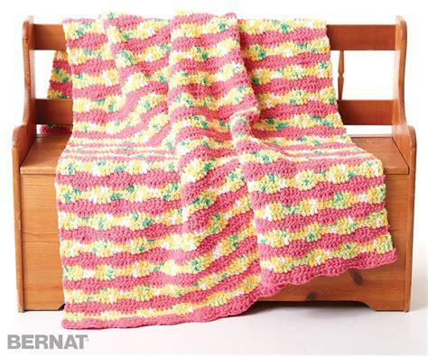 bernat pattern video crochet patterns bernat blanket yarn squareone for