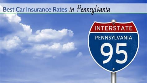 best insurance rates best car insurance rates in pennsylvania