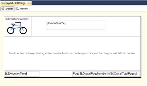 Report Templates Ssrs Custom Report Template In Ssrs