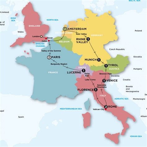 map of italy and germany with cities unorganized europe tips on how to enjoy europe on your