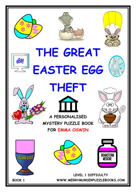 that grand easter day books the great easter egg theft book 1 personalised pdf