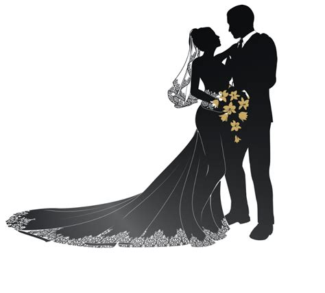 Wedding Png by Wedding Silhouette Png Www Pixshark Images