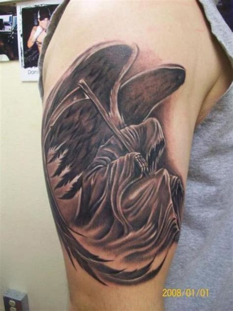 angel of death tattoos tattoos and designs page 124