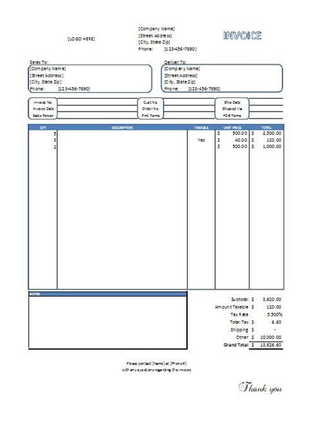 invoice design tool sales invoice template business tools pinterest