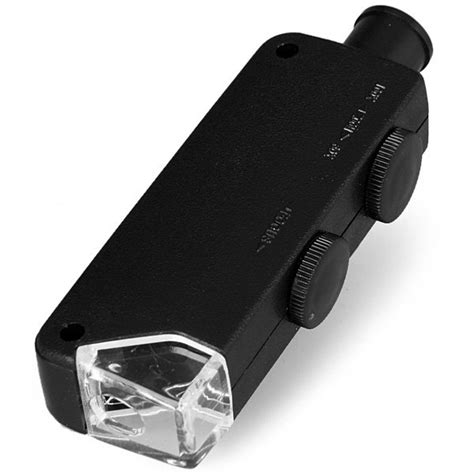 Pocket Microscope 60x 100x Magnifier Mg10081 1 pocket microscope 60x 100x magnifier mg10081 1 black jakartanotebook