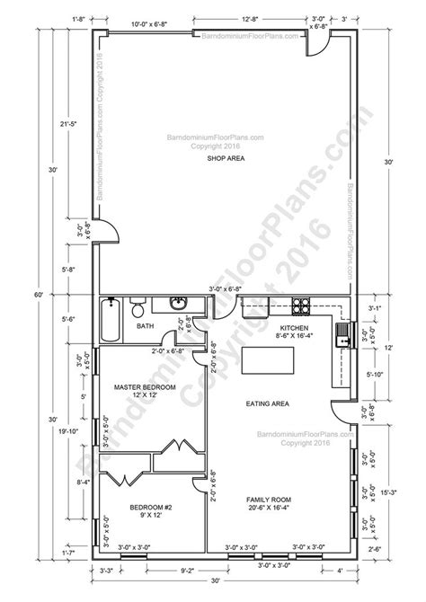 Metal Barn House Plans by Barndominium Floor Plans Pole Barn House Plans And Metal