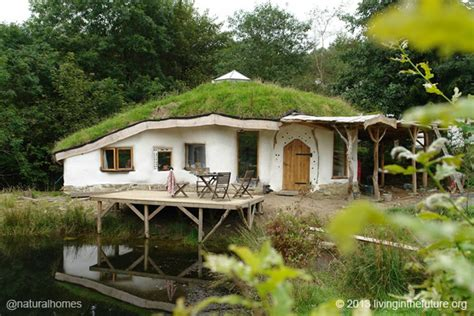 organic house living next to lammas ecovillage in wales
