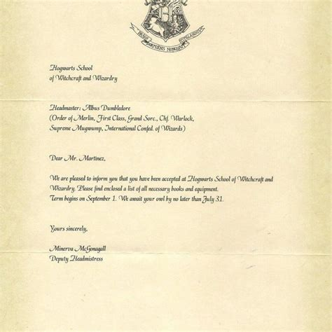 Apple College Acceptance Letter harry potter acceptance letter how to format a cover letter