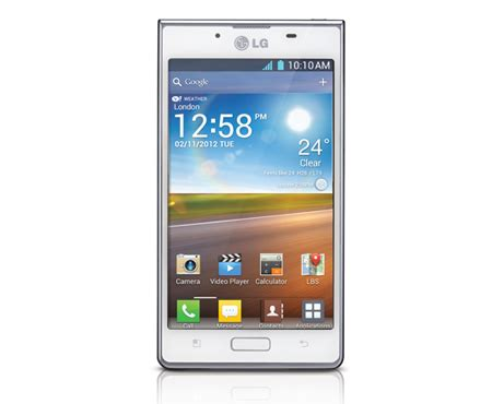 Hp Lg L7 mobile tablet all electronics product reviews more lg optimus l7 p700