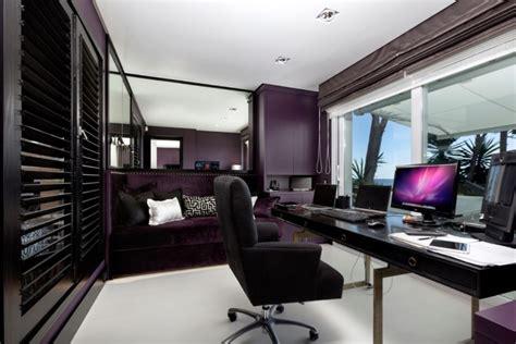 purple office decor 21 office color designs decorating ideas design trends