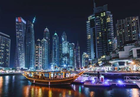 boat hotel definition dubai cityscape night boat wallpapers hd desktop and
