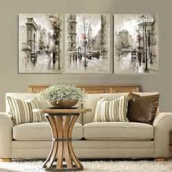 modern style abstract oil painting canvas retro city foundation dezin amp decor interior decor items amp idea s