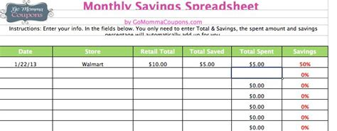 Savings Spreadsheet by Best Photos Of 2014 Coupon Savings Spreadsheet Grocery