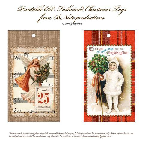printable old fashioned christmas gift tags bnute productions free printable old fashioned christmas tags
