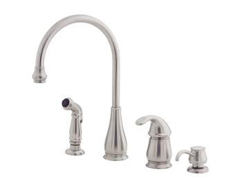price pfister kitchen faucet repair single handle soscia price pfister gt26 4dss treviso single handle kitchen