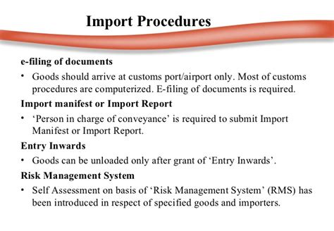 Mba In Import Export by Customs Duty Ppt