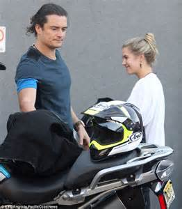 Ex Machina House orlando bloom bonds with justin theroux over fast bikes at