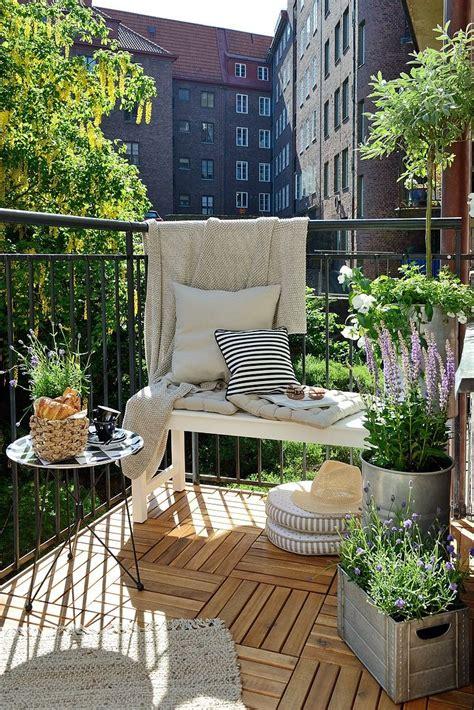 terrasse patio fleurir balcon ou sa terrasse selon exposition