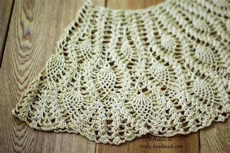 Crochet Handmade - crochet pineapple baby dress ideas make handmade
