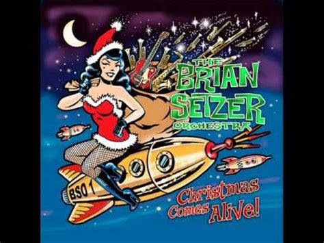 Hey Santa Are You Listening by Hey Santa Brian Setzer Orchestra
