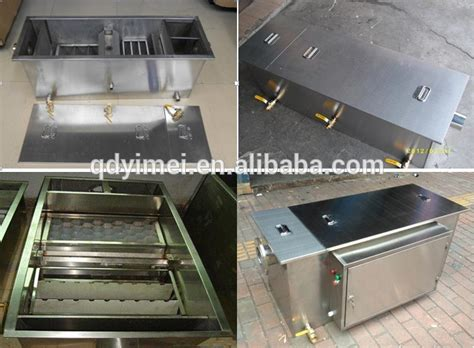 oil and grease trap for restaurant wastewater buy stainless steel grease trap for restaurant wastewater