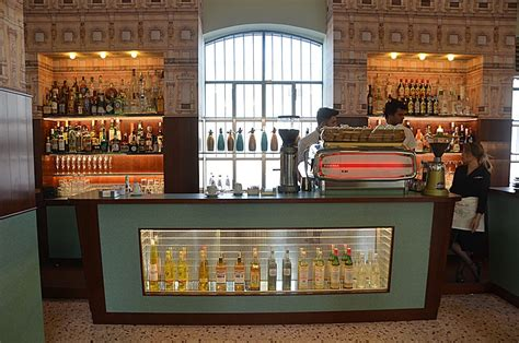 designboom wes anderson wes anderson envisions eccentric film set for bar luce at