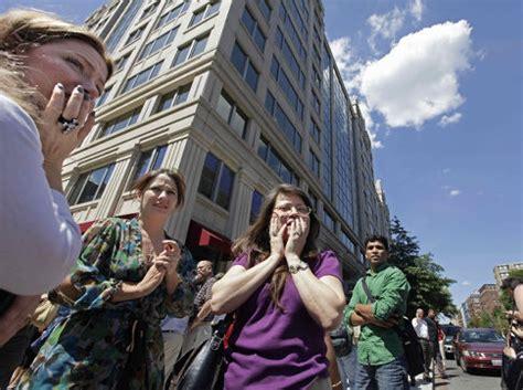 earthquake new york va earthquake felt in new york city ny daily news