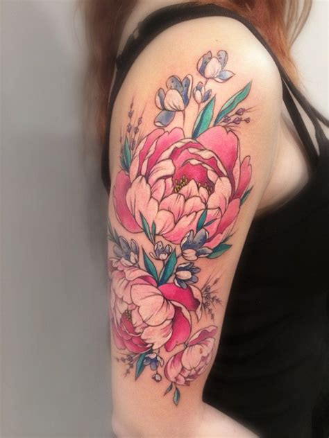 15 peony tattoo designs and ideas