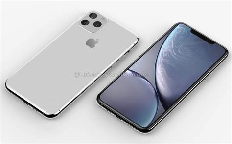 apple iphone 11 leaked in a new set of rendered images