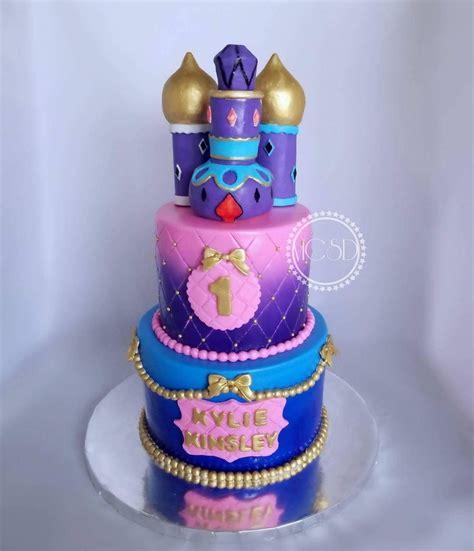 shimmer shine 1st birthday cake cakecentral