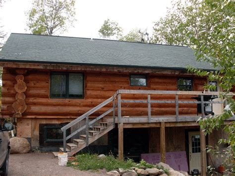 cleaning log home exterior cleaning exterior logs l wi mn edmunds and company