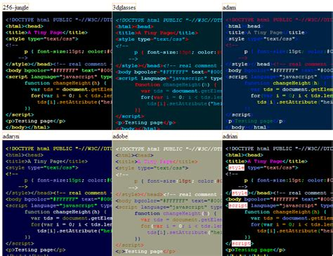 color themes vim a journeyman s tour of vim