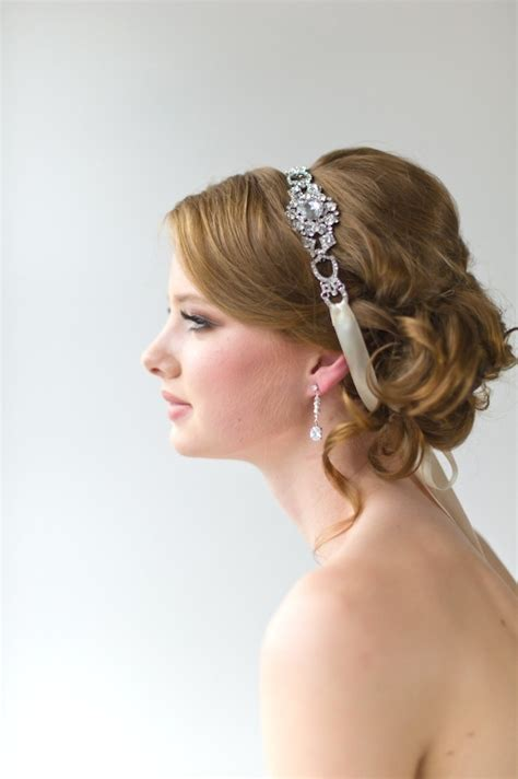 bridal ribbon hairstyles 73 best images about hair accessories on pinterest