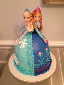 alfa img showing gt anna from frozen doll cake