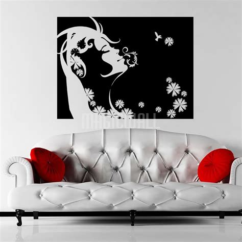 wallies wall stickers wall decals wall stickers floral swirled