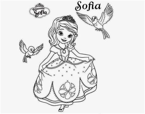 Free Coloring Pages Of Sofia Mermaid Sofia Princess Coloring Pages