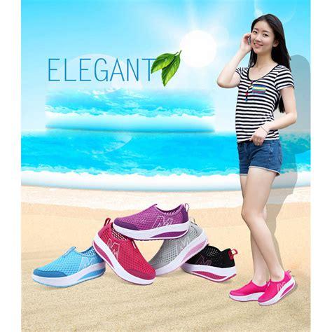 Sepatu Sendal Slip On Santai Size 38 Black sepatu slip on m balance breathable casual womens shoe size 38 black jakartanotebook