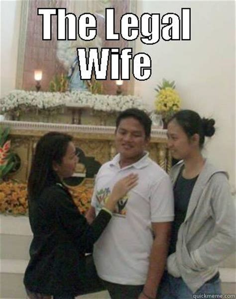 The Legal Wife Meme - the legal wife quickmeme