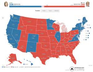 us election 2016 editable map the courier 187 election headquarters 2016