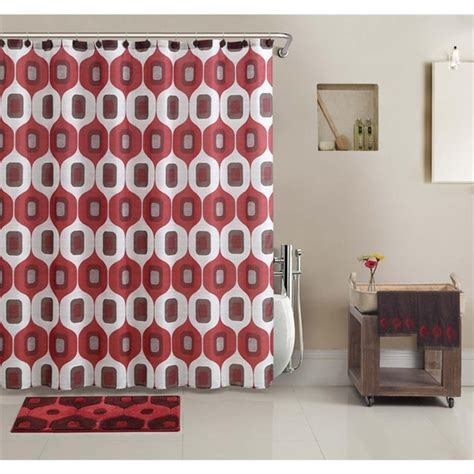 bathroom set in a bag vcny tiberius shower curtain and bath accessory 17 piece