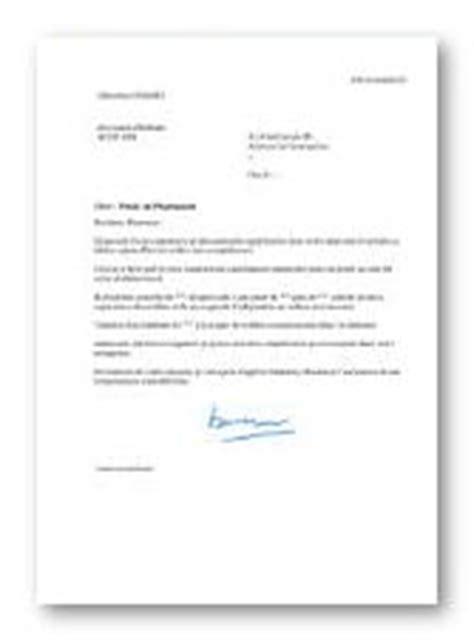 Lettre De Motivation Candidature Spontanée Industrie Pharmaceutique Mod 232 Le Et Exemple De Lettre De Motivation Pharmacien
