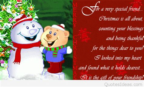 cute funny merry christmas  friends quote  image