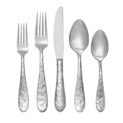 wrought iron flatware cast iron 5 flatware set by michael aram