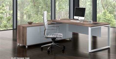 Modern Desks Australia Linz Executive Desk And Buffet Set Affordable Office Furniture
