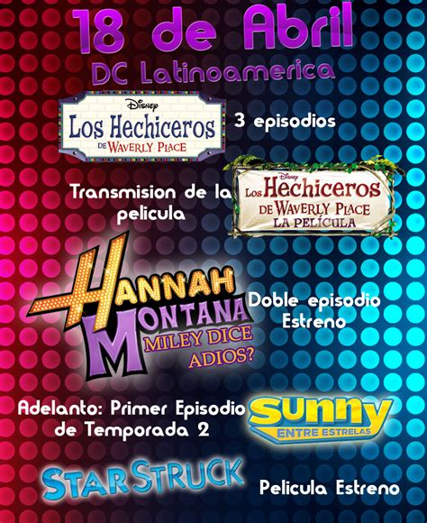 disney channel latinoamrica disney channel y m 225 s 18 de abril disney channel