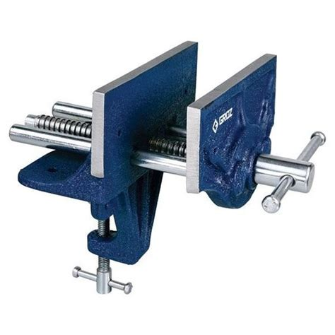 groz  portable woodworking vise