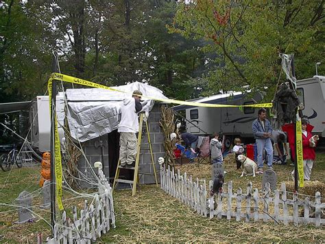 decoration site an rver s guide to spooky halloween fun at your csite