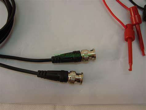 Bnc Pvc Model L Diskon bnc to mini grabber test pomona 2 sets 80cm lead ebay